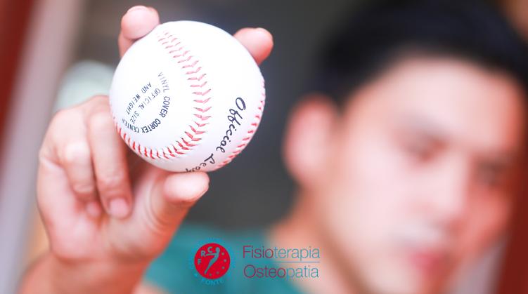 Spalla del giocatore di baseball