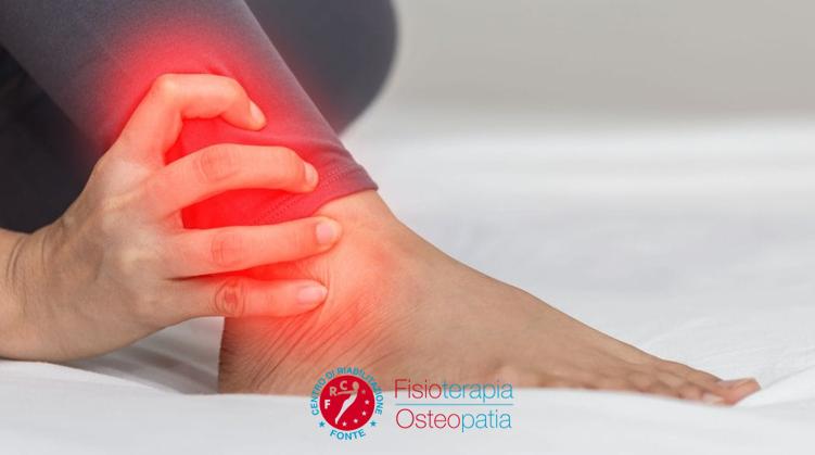 Artrosi caviglia cure